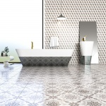 Brown, Light Brown, Beige Polished Grave Cement Tiles 20x20