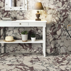 Afyon Violet Polished Marble Collection