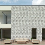 Skyline Honed & Leather Marble Wall Decos New Elevations Pattern