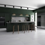Bianco Dolomiti Classic Honed Marble Tiles 30,5x61